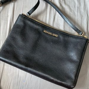 Michael Kors Black over the shoulder purse!